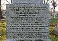 William Rathbone V memorial, Toxteth Park Cemetery, east upper panel.jpg