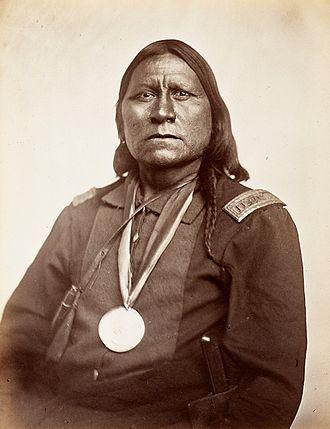 Texas–Indian wars - Satanta, Kiowa chief