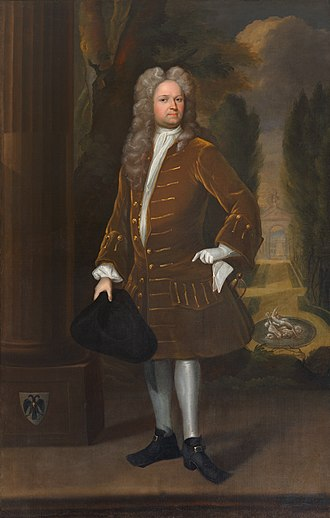 William Stukeley - Portrait of Stukeley attributed to Richard Collins