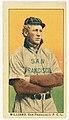 Williams, San Francisco Team, baseball card portrait LCCN2008677343.jpg
