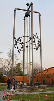 World S Largest Windchime Wikipedia