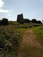 Windmill remains, Hodbarrow, Millom.jpg
