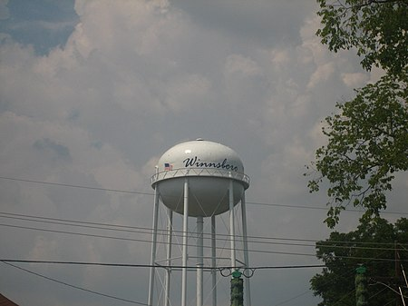 Winnsboro, LA, water tower IMG 1280.JPG