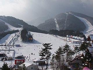 Yongpyong Resort Ski resort in South Korea