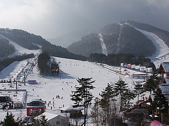 2018 Winter Olympics - Dragon Valley Ski Resort