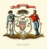 Wisconsin state coat of arms (illustrated, 1876).jpg