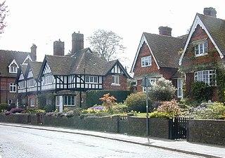 Witley Village in England