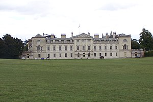 Neoclassical architecture - Woburn Abbey, an excellent example of English Palladianism, designed by Burlington's student Henry Flitcroft in 1746.