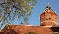 Wodociągowa wieża ciśnień, zbudowana w 1915 r. Kcynia ,Polska. Widok z oddali. - panoramio.jpg