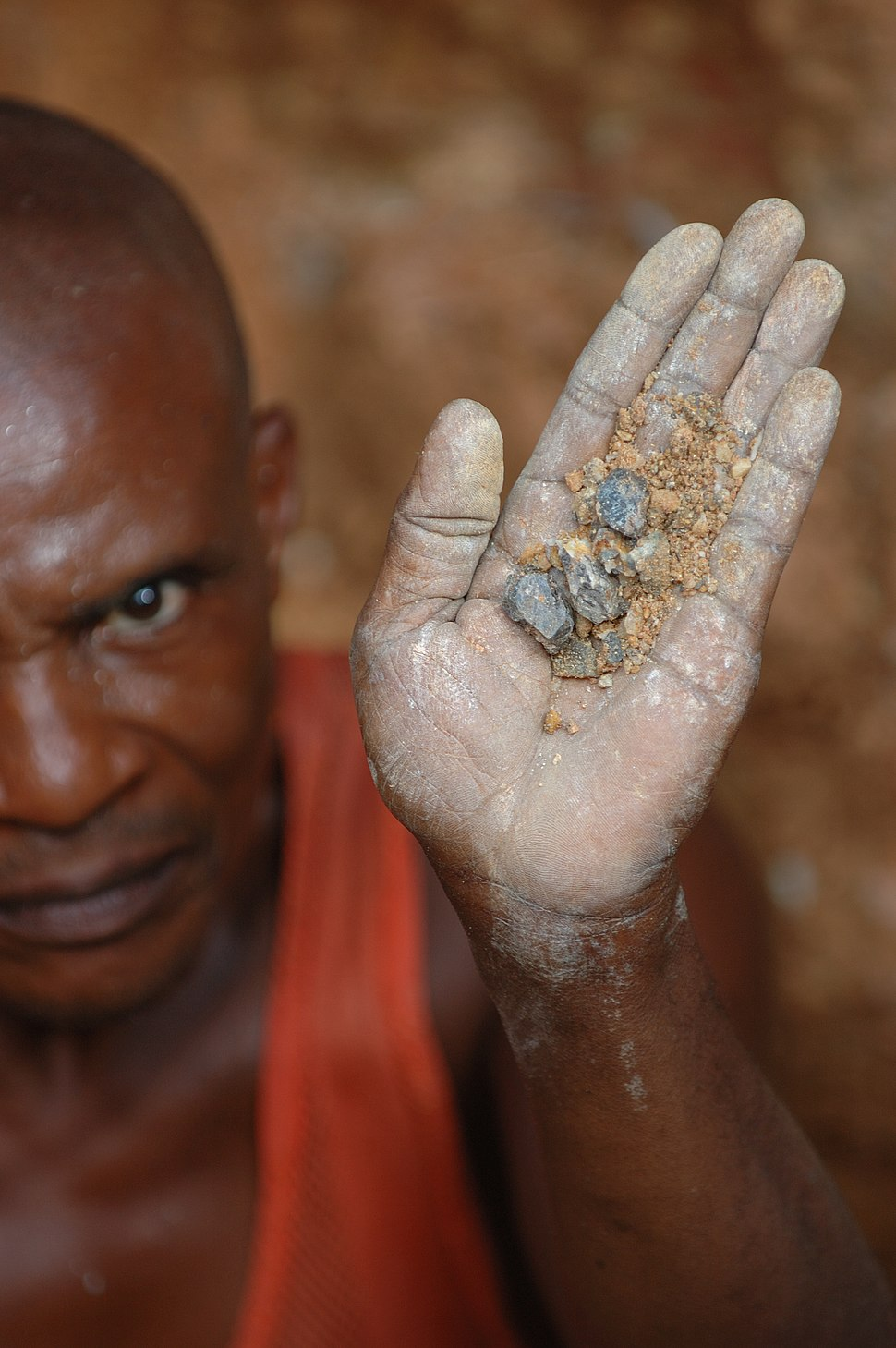 Wolframite Mining in Kailo3, DRC
