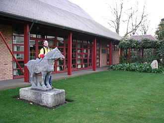Wolfson College, Cambridge - The Chinese-style Lee Hall