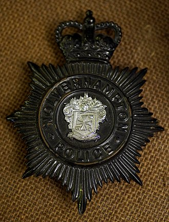 Wolverhampton Borough Police - Image: Wolverhapton Borough Police 1839 1966 badge (13200133643)