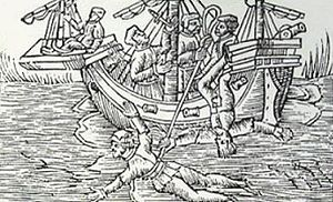 Keelhauling - Keelhauling in the Tudor period (1485–1603)