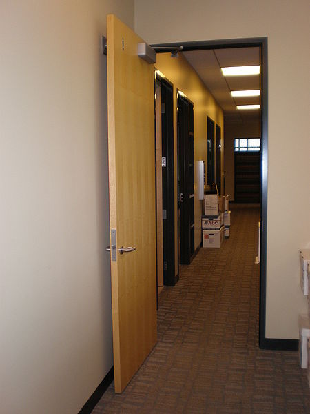 File:Wooden fire door.JPG