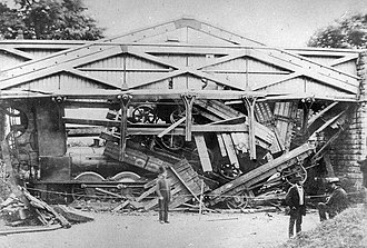 Henry Tyler (Conservative politician) - Wootton bridge after the crash