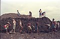 Workers Moving Earth Using Containers - Science City Site - Calcutta 1994-June 028.jpg