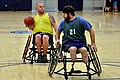 Wounded warriors practice basketball. (11855274883).jpg