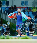 Wrestling at the 2016 Summer Olympics, Hasanov vs Abdurakhmonov 14.jpg