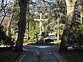 Wuppertal, Friedhof Uellendahl, Grabkreuz der Gemeindepfarrer.jpg