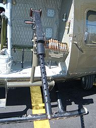 XM213-M213 .50 cal UH-1 mount Wings over Wine Country 2007.JPG