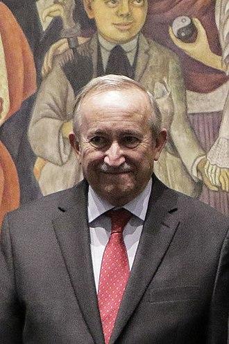 Xavier Cortés Rocha - Xavier Cortés Rocha on 2018.