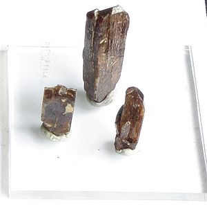 Yttrium - Xenotime crystals contain yttrium