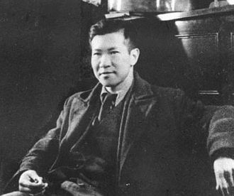 Sinn Sing Hoi - Xian Xinghai at about 23 years old in Shanghai in 1920s.