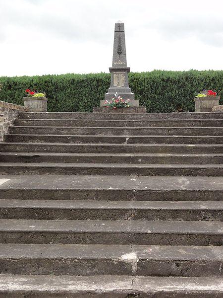 Xures (M-et-M) monument aux morts
