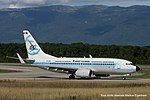 YR-BGG Boeing B737-78J B737 - ROT (21186958245).jpg