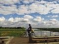 Y Coetsee Bicycle on a bridge Mbarara (2013).jpg