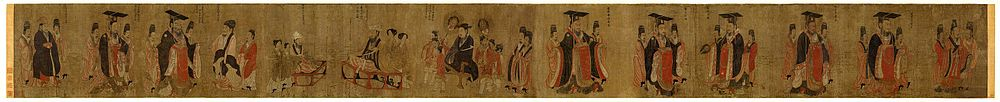 Yan Liben. Thirteen Emperors. Boston, Museum of the Fine Arts.jpg