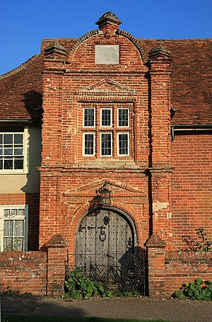 Kersey, Suffolk - River House, gateway built 1490