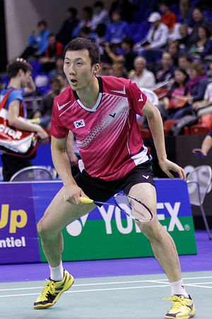 Yoo Yeon-seong - Yoo Yeon-seong at the 2013 French Super Series.