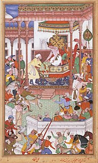 Abdul Rahim Khan-I-Khana Court poet of Emperor Akbar famous for his couplets and astrology.
