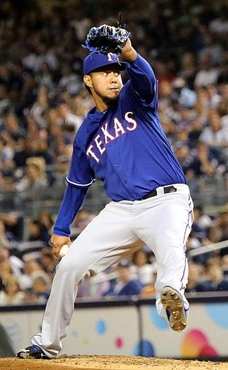 Yovani Gallardo - Gallardo with the Texas Rangers