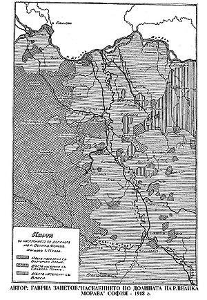 Карта на етносите по река велика