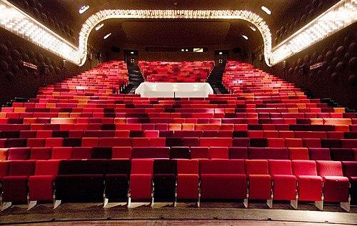 Zaal oude Luxor Theater