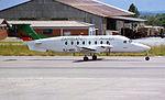 Zambian Airways Beech 1900D 9J-MBO (14265540342).jpg