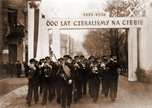 Zaolzie karwina 1938