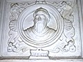 Zaragoza - Casa de Miguel Donlope - Medallón de Miguel Donlope.jpg