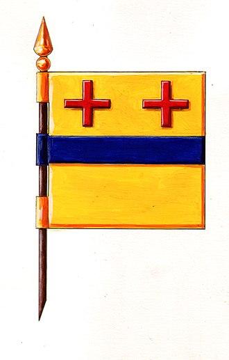 Starčevo - Image: Zastavastarceva