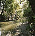 Zicht op de Utrechtse gracht met werf ter hoogte van de Tolsteegsingel - Utrecht - 20414420 - RCE.jpg