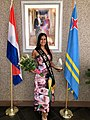 Zury Ruiz Miss Teen World 2019 received recognition by the Prime Minister of Aruba.jpg