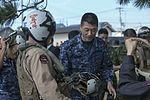 """Dragons"" deliver disaster aid during exercise Wakayama Alert 141019-M-TF269-510.jpg"