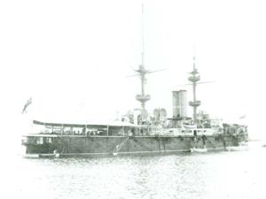 "HMS Renown (1895) - ""HMS Renown"", Halifax, Nova Scotia, 1898"