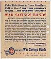 """Hit the Enemy Where It Hurts"" War Bonds Advertising Insert - DPLA - d3bc05fd0a11872de368353218679b3c (page 2).jpg"