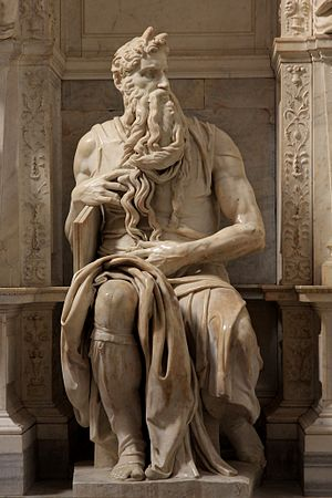 Tomb of Pope Julius II - Michelangelo's ''Moses''.