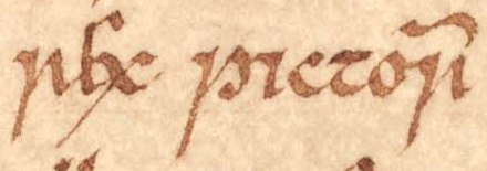 The title of Aed mac Cinaeda as it appears on folio 26r of Oxford Bodleian Library Rawlinson B 489 (the Annals of Ulster). As far as the Irish annals are concerned, Aed was the last King of the Picts. Nevertheless, other sources report that Aed was succeeded by Eochaid and Giric. Aed mac Cinaeda (Oxford Bodleian Library MS Rawlinson B 489, folio 26r).jpg