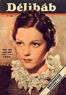 Irén Ágay Hungarian actress