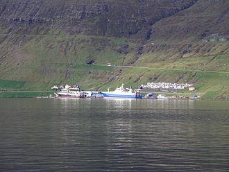 Ánirnar - Ánir and Norðhavn Port in 2011